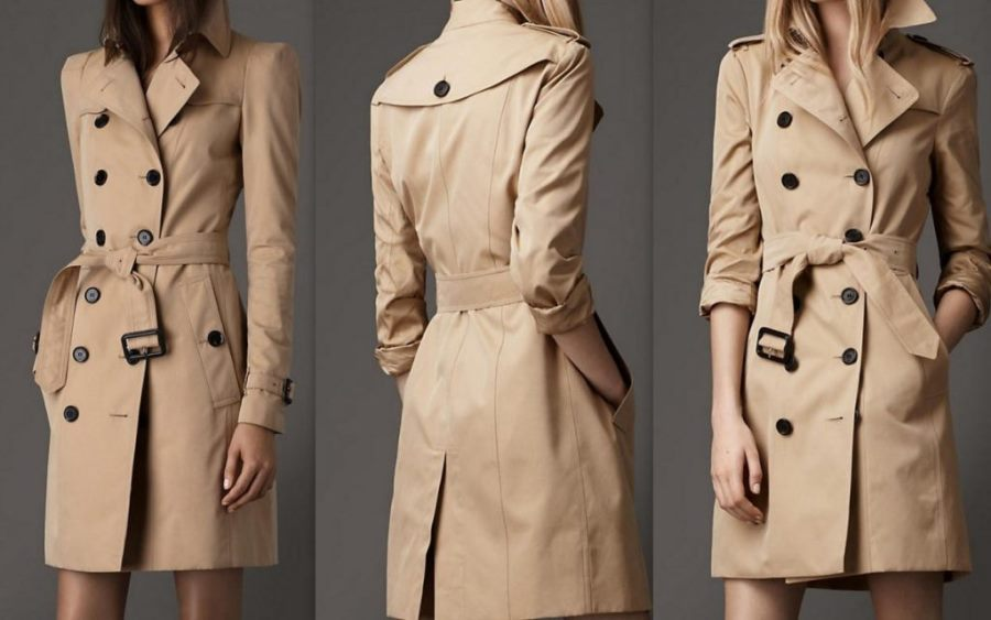 Пальто женское демисезонное тренч