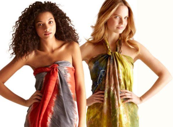Платье саронг: фото