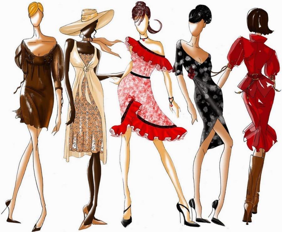 Развитие моды 20 века