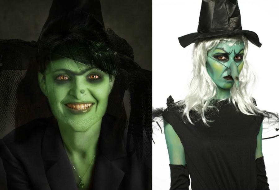 Как сделать макияж на Хэллоуин в домашних условиях