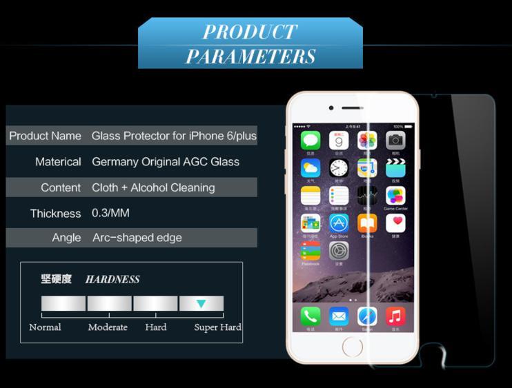 Защитное стекло Screen Protector Glass для Iphone