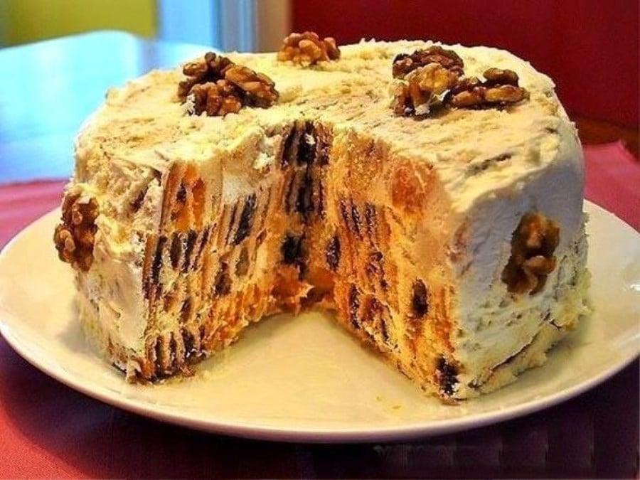 Необычный торт пошаговый рецепт с