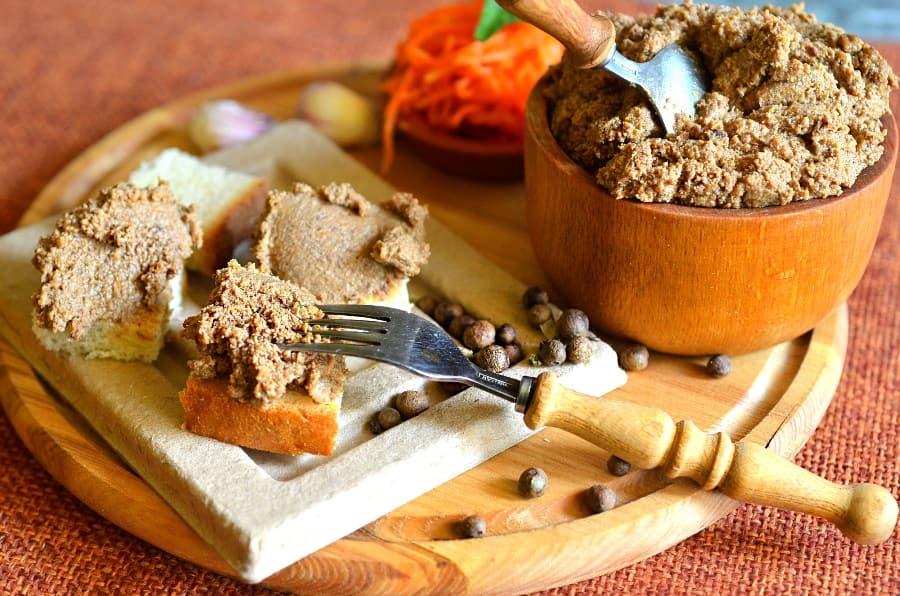 Пошаговый рецепт печеночного паштета