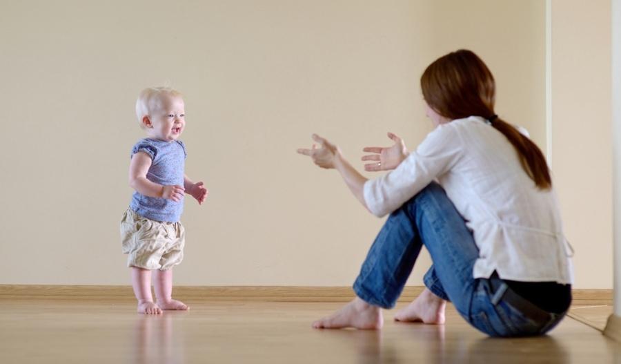 Режим дня ребенка в 11-12 месяцев