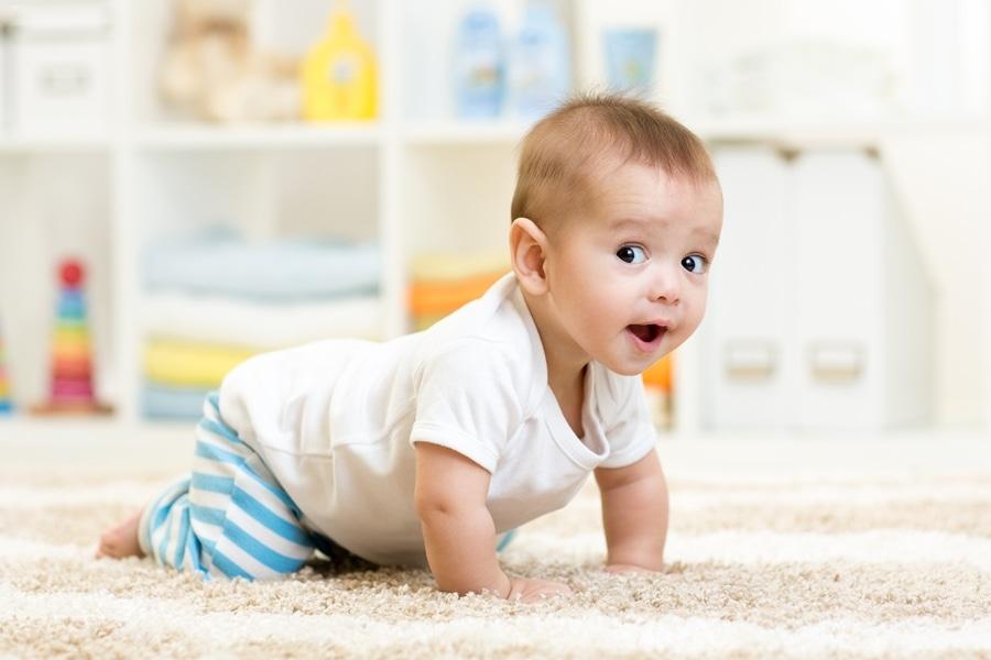 Седьмой месяц развития ребенка