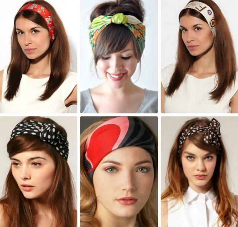 Как себе сделать красивую повязку на голову