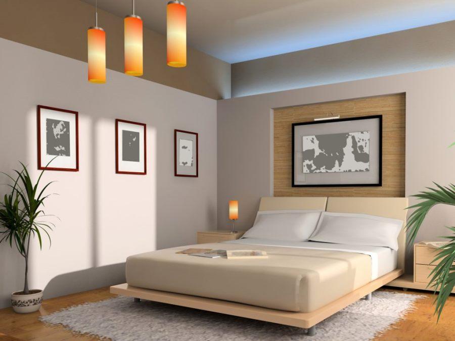 Модель, фото в спальне по фен шуй момент