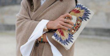 Модные женские клатчи