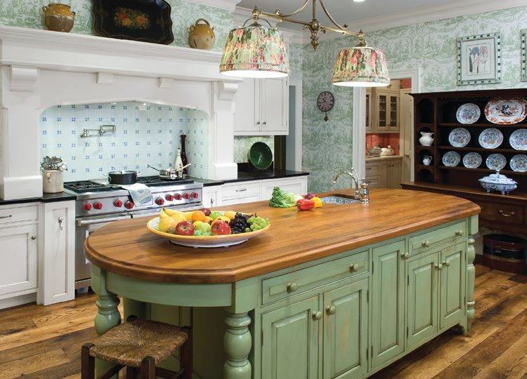 Дизайн кухни по фен-шуй
