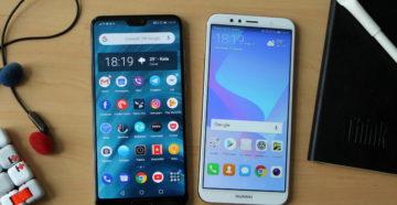 Мобильные телефоны и смартфоны Huawei