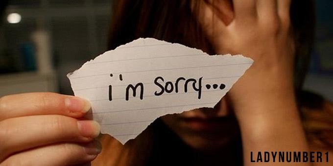Как просить прощение у парня