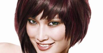 асимметричные стрижки на средние волосы