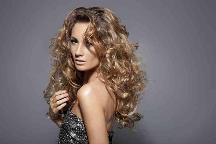Вертикальная химия средних волос