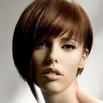 асимметричные стрижки на короткие волосы