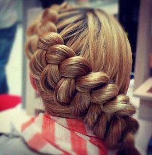 Как заплетать датскую косу