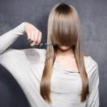 Как подстричь челку самой себе красивой формы