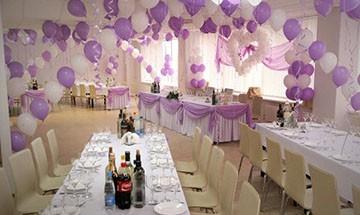 как украсить зал на свадьбу своими руками шарами, цветами и другим декором