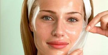 маски для лица с желатином от морщин