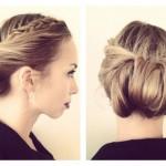 Несложные прически на средний волос — быстро и красиво