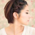 Плетение кос на короткие волосы своими руками