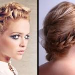 Плетение косичек на средние волосы разными способами