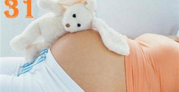 31 неделя беременности у женщины