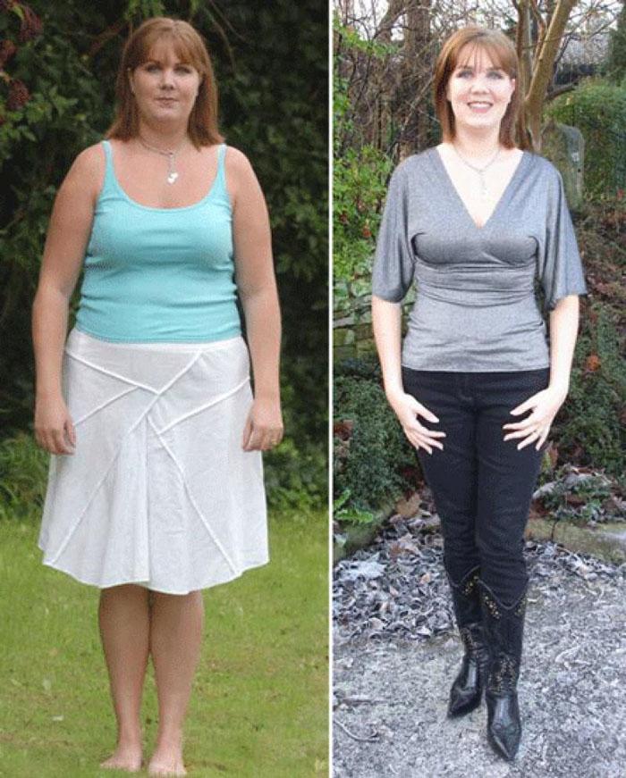 Фото до и после диеты ангела