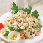 Как готовить салат Оливье: советы по подбору ингридиентов