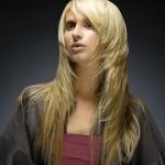 Актуальная, креативная, освежающая каскадная стрижка на длинные волосы