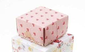 Упаковка для небольших подарков классическая