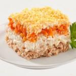Классический рецепт салата «Мимоза»: фото—рецепт и посвящение в тонкости кулинарии