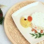 Салат в виде овечки для праздничного стола