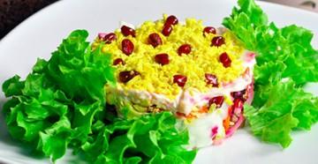 салат боярский рецепт приготовления простого но очень вкусного и сытного блюда