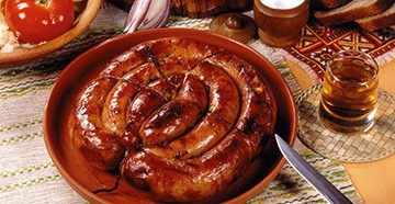 домашняя колбаса в кишках рецепт приготовления из курицы и печени