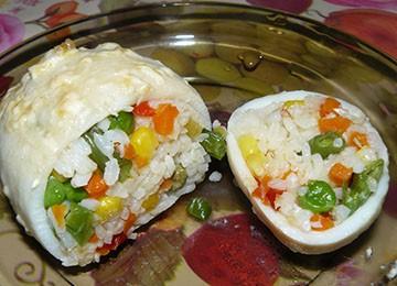 фаршированные кальмары в запеченные духовке с начинкой из грибов риса или кабачков
