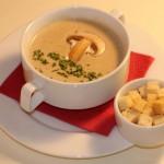 Грибной крем-суп из шампиньонов – вкусный и полезный обед