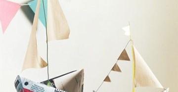 как сделать бумажный кораблик своими руками дома