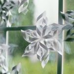 Красивые и простые схемы вырезания снежинок из бумаги
