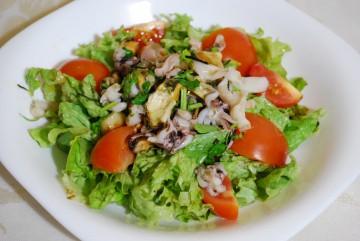 вкусный салат из морепродуктов простые рецепты вкусные блюда