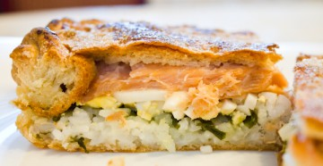 готовим вкусное тесто для пирога с рыбой своими руками