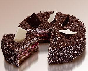 Описание торта негр в пене