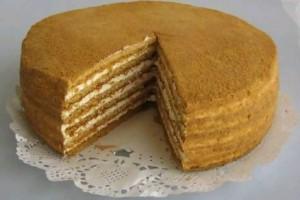 Торт анечка или пчелка