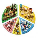 Раздельное питание: меню на неделю, на 90 дней и исходя из группы крови
