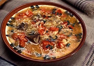 вкусный суп харчо из говядины