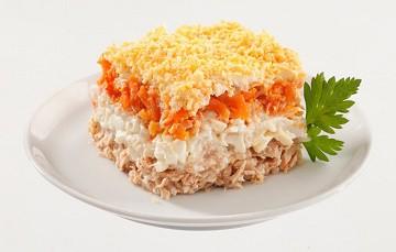 салат мимоза рецепт с сайрой