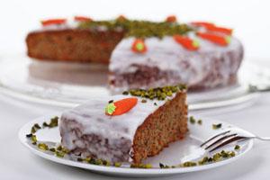 Самый простой вариант морковного торта