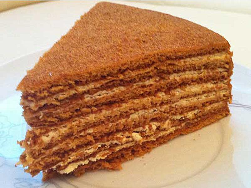 Медовый торт со сгущенкой рецепт с фото ефремова несколько