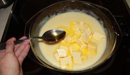 Десерт с заварным кремом своими руками