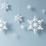 красивые узоры вырезания бумажных снежинок