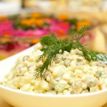 Рецепт салата «Зимний» с колбасой: русский ответ французскому аналогу